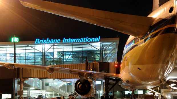 Brisbane Airport has experienced a jump in passenger numbers from China.