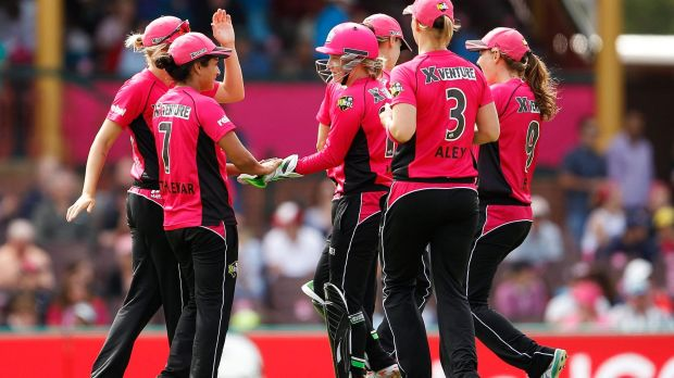 Spin queen: Lisa Sthalekar has been a key part of the Sixers' run to the WBBL final.