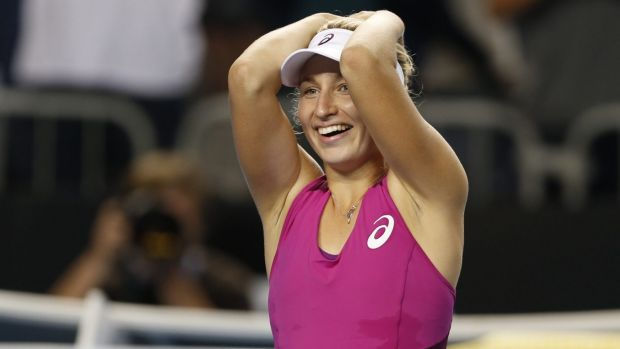 Canberra's Alison Bai is drawing inspiration from Daria Gavrilova's rise through the ranks.