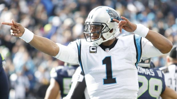 Main man: No athlete in the NFL is having more fun than Cam Newton this year.