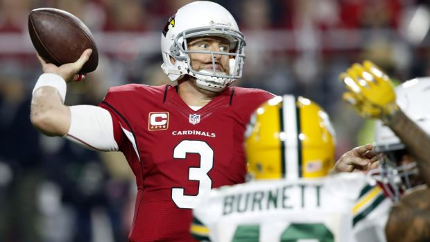 Point to prove: Carson Palmer was arguably the best quarterback in the league this year, and will look to bounce back ...