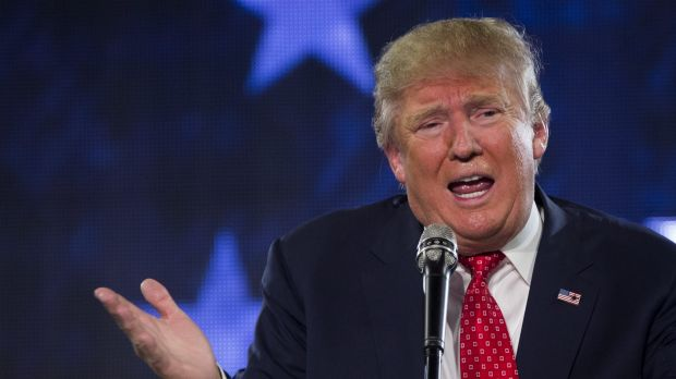 "Real estate magnate Donald Trump, who earlier said his native New York had become a ""cesspool of corruption and ..."