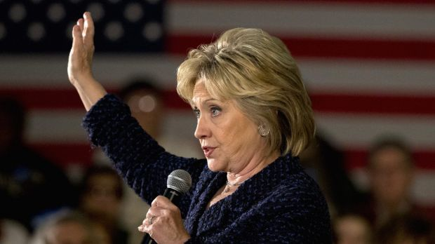 Hillary Clinton says she is not worried by her close contest with Bernie Sanders.