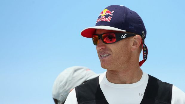 """You've just got to keep digging deep and punch your way out of the corner"": James Spithill."