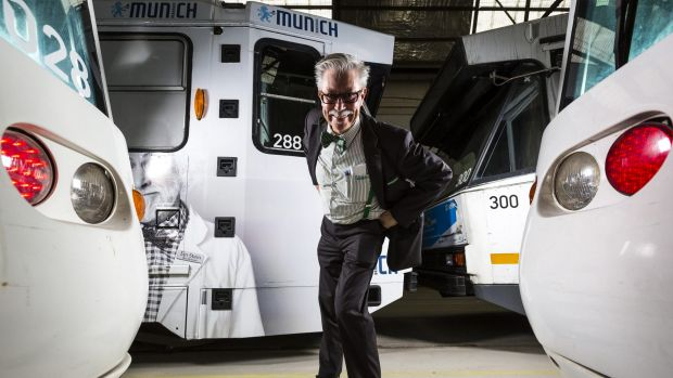Tram driver Bruce Whalley wants to bring joy and connection to his passengers.