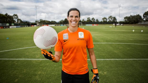 Canberra United goalkeeper Lydia Williams has been balancing club duties with international committments this season.