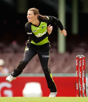 Erin Osborne had a breakout season with the Sydney Thunder in the WBBL.