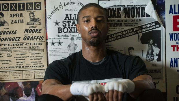 <i>Creed</i>, starring Michael B. Jordan, missed out on a best picture nomination.