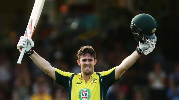AMong the runs: Mitch Marsh.