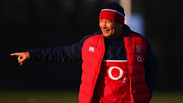 Big expectations: Eddie Jones has taken over the England setup.