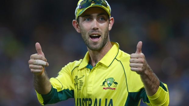 Glenn Maxwell: Back in action for Australia in their Twenty20 match against India at the MCG on Friday night.