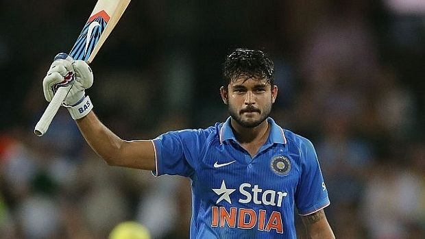 Brilliant: Manish Pandey played a match-winning hand for India.