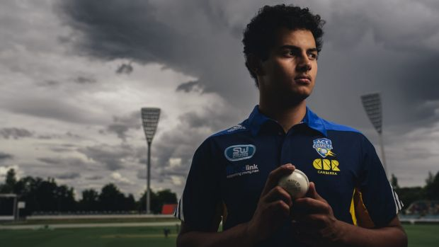 Quick learner: Weston Creek Molonglo fast bowler Joe Slater will make his Futures League debut for the ACT Comets ...
