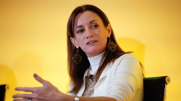 """Blythe Masters, CEO of Digital Asset Holdings: """"Firms are under enormous pressure to radically rethink business model, ..."""