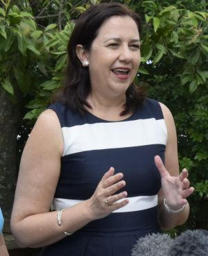 Education Minister Kate Jones and Premier Annastacia Palaszczuk under fire as Cairns MP Rob Pyne asks about funding for ...