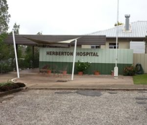 Herberton Hospital, near Cairns, where four patients died after a virus outbreak last week.