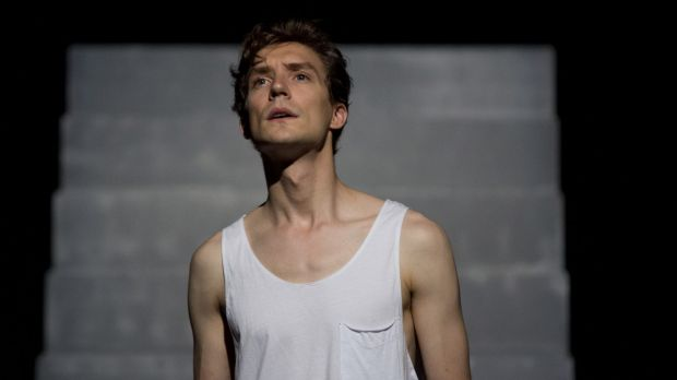 Commanding voice ... Mitchell Riley in O Mensch! at Sydney Festival.