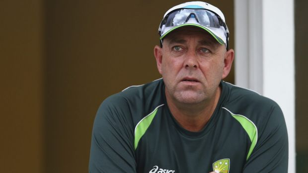 Hopeful: Coach Darren Lehmann believes the Sri Lanka tour can be the start of an Australian surge.