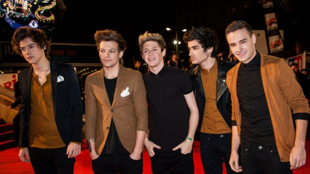 One Direction has announced a two-year hiatus. Malik, second from right, would like to study for a degree.