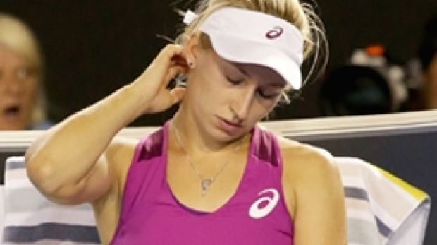 Dropped in the rankings: Daria Gavrilova.