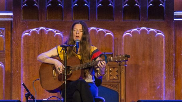 Meg Baird tapped into English traditions in St Stephen's Church during the 2016 Sydney Festival.