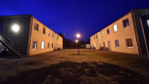 A migrant shelter in Kerpen, Germany. A suspect who was arrested over the New Year's Eve sexual assaults and robberies ...