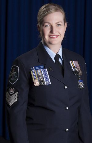 Australian Federal Police Detective Sergeant Yvonne Crozier  said it was an unexpected surprise to be recognised for her ...