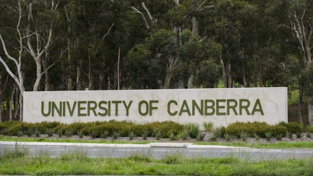 University of Canberra has been the latest campus where the posters have been found.