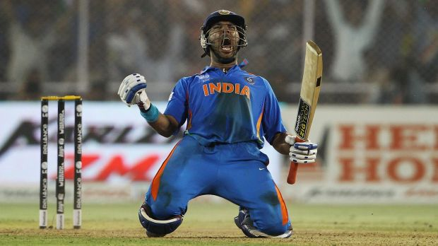 Making a comeback: India's T20 squad has been bolstered by the return of Yuvraj Singh.