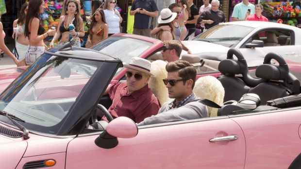 Robert De Niro, left, and Zac Efron play grandfather and grandson in Dirty Grandpa.