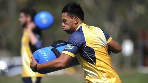New deal: Brumbies outside back Christian Lealiifano has signed with the team for two more years.