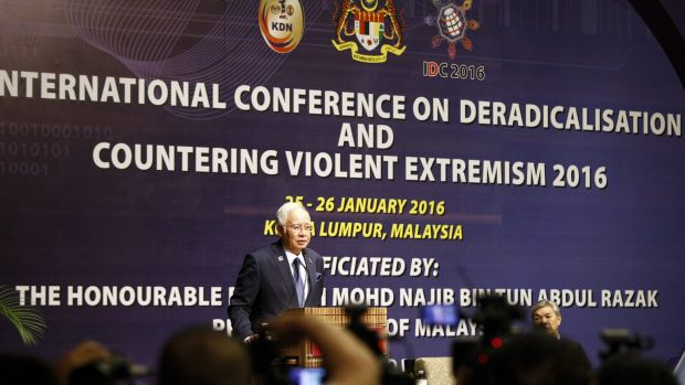 Malaysian Prime Minister Najib Razak used his opening speech at the Kuala Lumpur conference to defend the country's ...