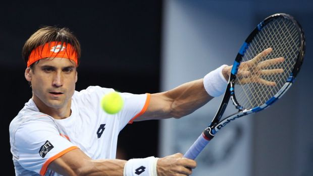 Score-perfect: David Ferrer of Spain is yet to drop a set this tournament.