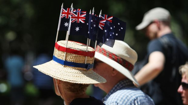 Former Canberra man Tony Ozanne says Australia Day is a time to reflect.