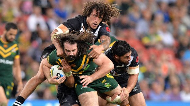 Perth bound?: The Kangaroos and Kiwis are set to play a Test match in Western Australia.