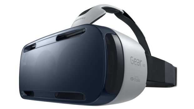 Samsung's Gear VR: guaranteed to make you popular at parties.