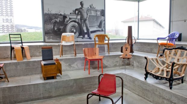 """Martino Gamper describes his 100 chairs as """"very human""""."""