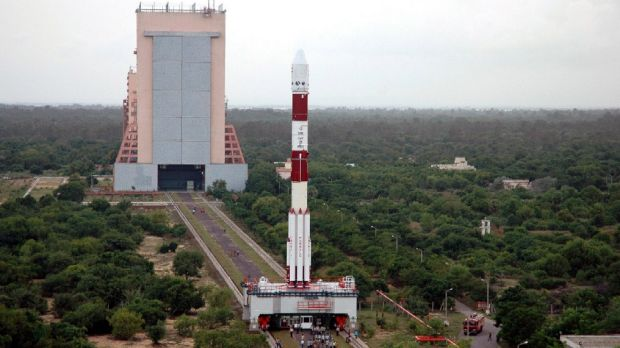 India's Chandrayaan 1 spacecraft ready for launch. The country's space program has been accelerating in recent years.
