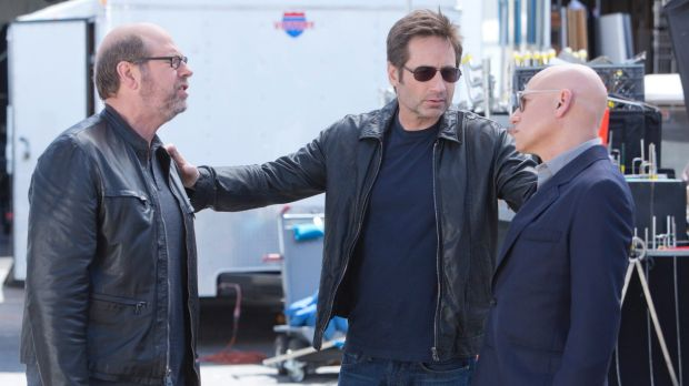 In <i>Californication</i>, David Duchovny was reacting against <em>The X-Files</em>.