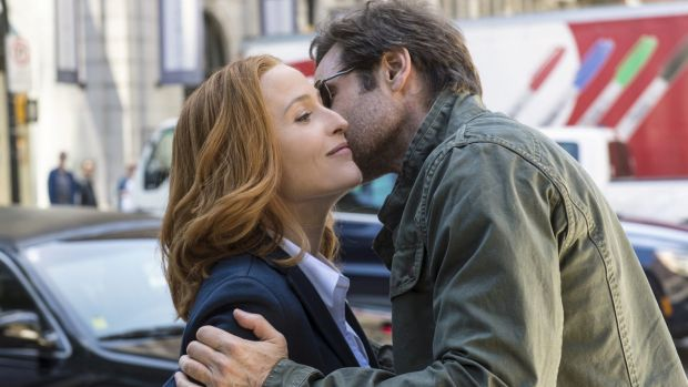 <i>The X-Files</i> turned Gillian Anderson and David Duchovny into international stars.