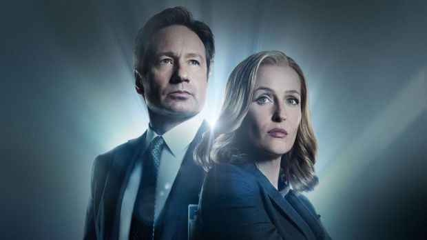 Fox Mulder (David Duchovny) and Dana Scully (Gillian Anderson) are back for a six-episode limited series of <i>The ...