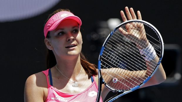 Agnieszka Radwanska blasted her way to the final in Sydney on Thursday.
