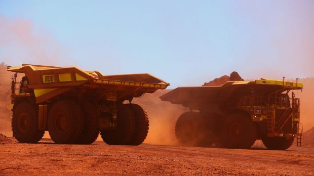 The outspoken boss of loss-making miner Cliffs has once again taken aim at BHP and Rio Tinto.