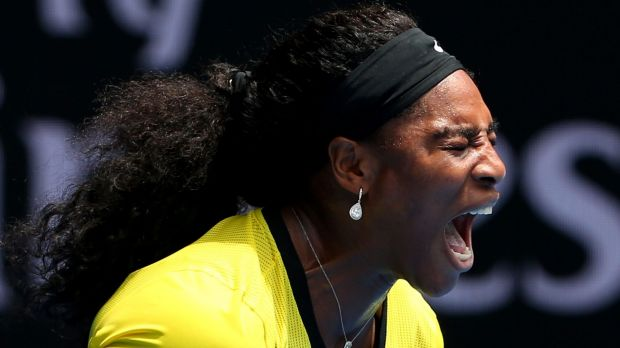Serena Williams: The champion has never lost in the Australian Open semis or beyond.