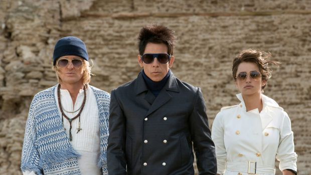 Crimes of fashion: (From left) Owen Wilson plays Hansel, Ben Stiller returns as Derek Zoolander and Penelope Cruz is ...