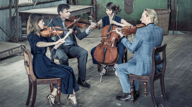 The Australian String Quartet will give three concerts in Canberra this year.