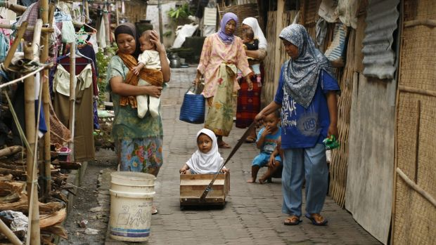 Forty Ahmadiyah families were thrown out of their village in 2010.