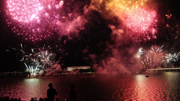 The Australia Day firework events are held across the nation.