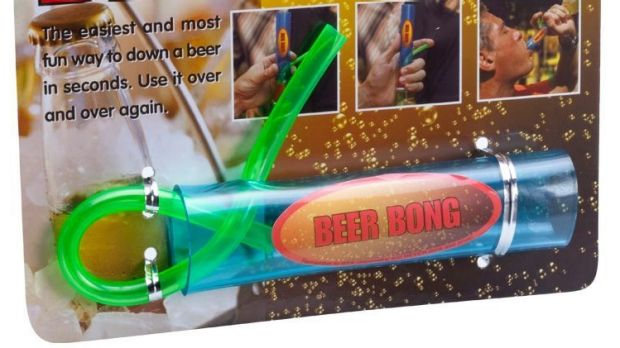 Excessive drinking and swimming should not be mixed - yet City Beach is selling the Beer Bong.
