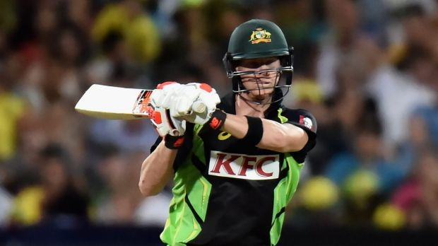 Steve Smith had been guiding the Aussies into a strong position.